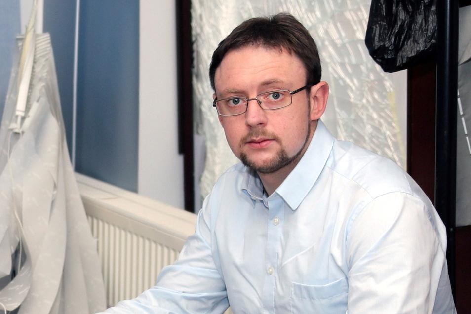 Rolf Weigand ist 37 Jahre alt und lebt in Großschirma. Er könnte bei der Landratswahl 2022 in Mittelsachsen für die AfD antreten.