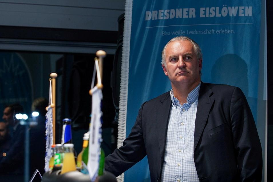 Marco Stichnoth ist ab sofort nicht mehr für die Dresdner Eislöwen tätig.