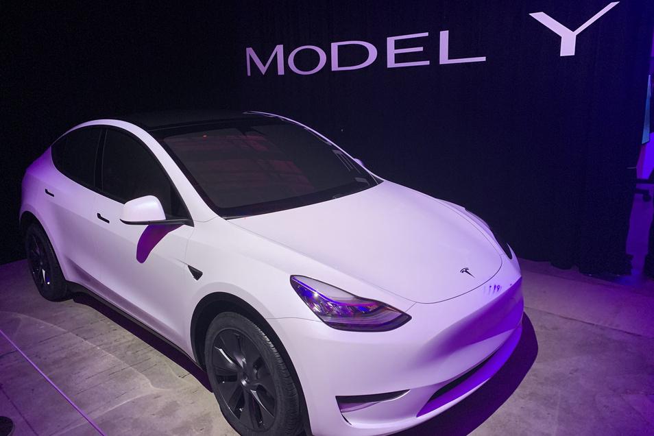 Hoffnungsträger für Tesl: das Model Y.