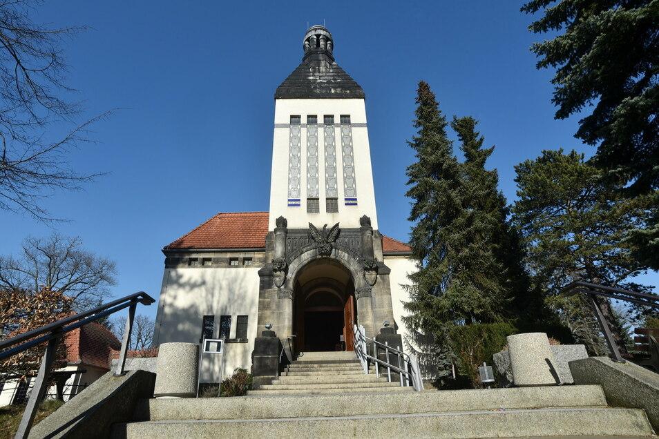 Krematorium Zittau. Foto: Matthias Weber