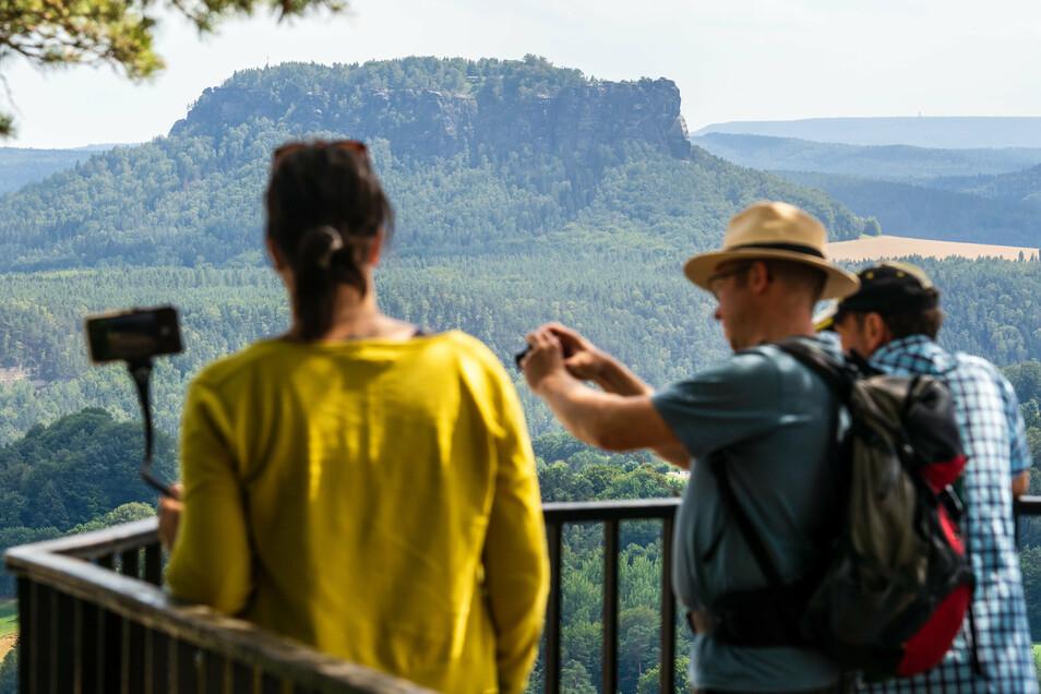 """Der Lilienstein ist das Symbol des Nationalparks. """"Die Natur Natur sein lassen"""" funktioniert nur bedingt."""