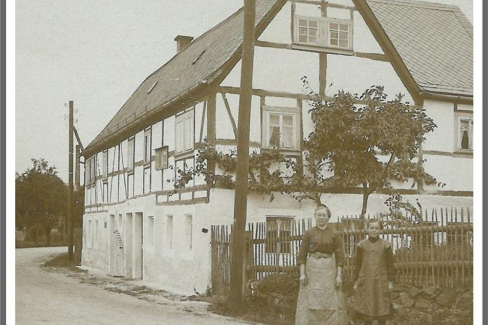 Im Wohnhaus in Ruppendorf war die Sattlerei untergebracht.