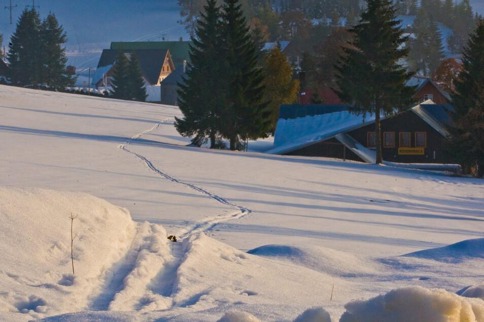 Winter im Isergebirge