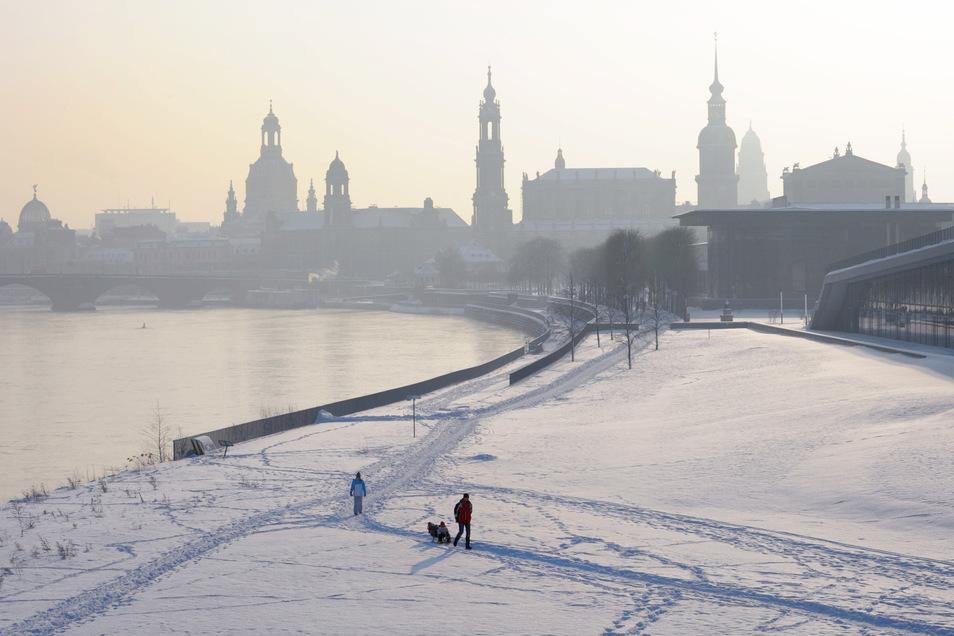 2010 war eines der wenigen Jahre, in denen zu Weihnachten Schnee lag.