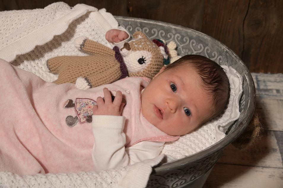 Lena Geboren am 2. Juni Geburtsort Dresden Gewicht 3.240 Gramm Größe 52 Zentimeter Eltern Mandy Kirchner und Tino Rentsch Wohnort Großröhrsdorf