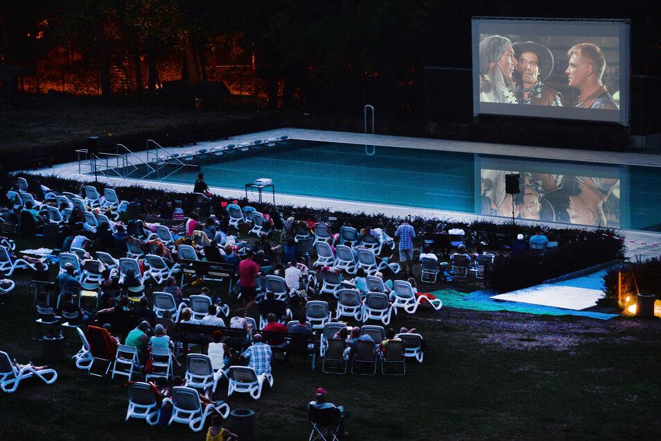 Im letzten Jahr kam das Open-Air-Kino bei den Gästen sehr gut an.