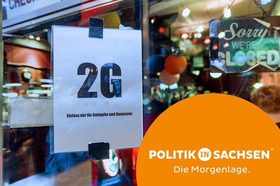 Ab Donnerstag in Sachsen möglich: 2G-Regel in der Kneipe.