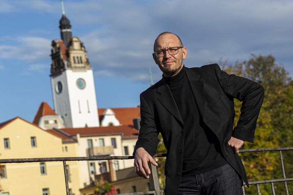 """Thoralf Gorek ist neuer Projektmanager für """"100 Jahre Freital""""."""