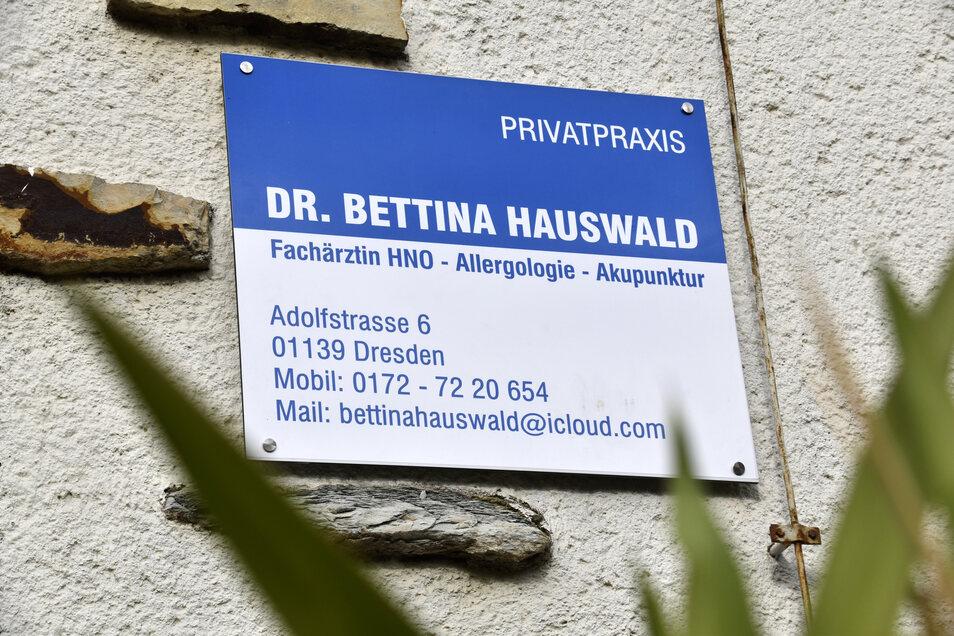 In ihrem Geburtshaus auf der Adolfstraße eröffnet Bettina Hauswald ihre Praxis.