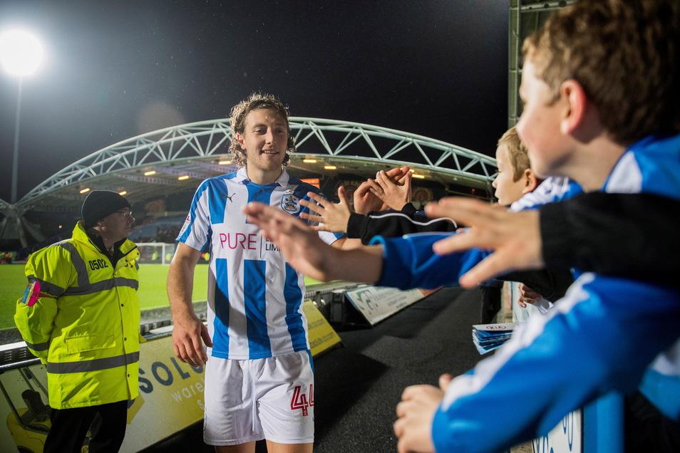 Nach dem Aufstieg mit Dynamo wechselte Michael Hefele in die zweite englische Liga zu Huddersfield Town - und schaffte den Sprung in die Premier League.