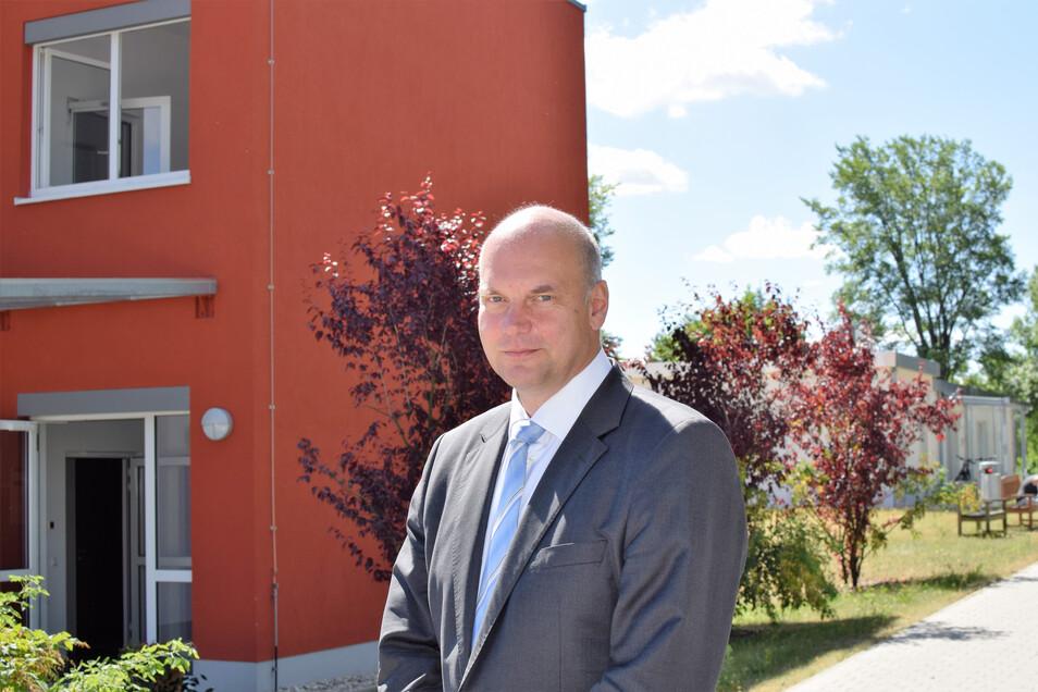 Dominik Huster wechselt aus Leipzig an das Klinikum Görlitz. Er ist verheiratet und Vater von drei Kindern.