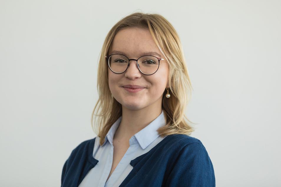 Joanna Kesicka vertritt seit Herbst 2019 die Interessen der über 320.000 Schülerinnen und Schüler in Sachsen.