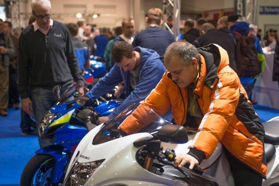 Mehr als 21 000 Motorradfans besuchten die Messe.