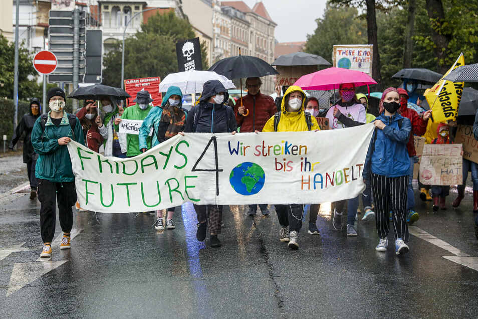 """Fridays for Future"" marschiert wieder in Zittau."