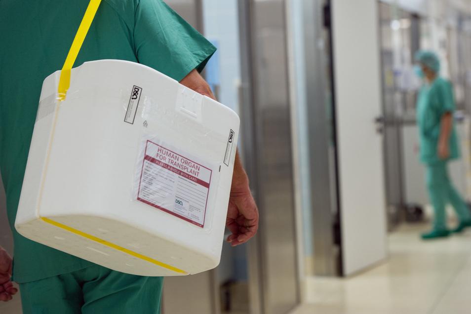 Deutschlandweit spendeten im vergangenen Jahr insgesamt 955 Menschen nach ihrem Tod ihre Organe.