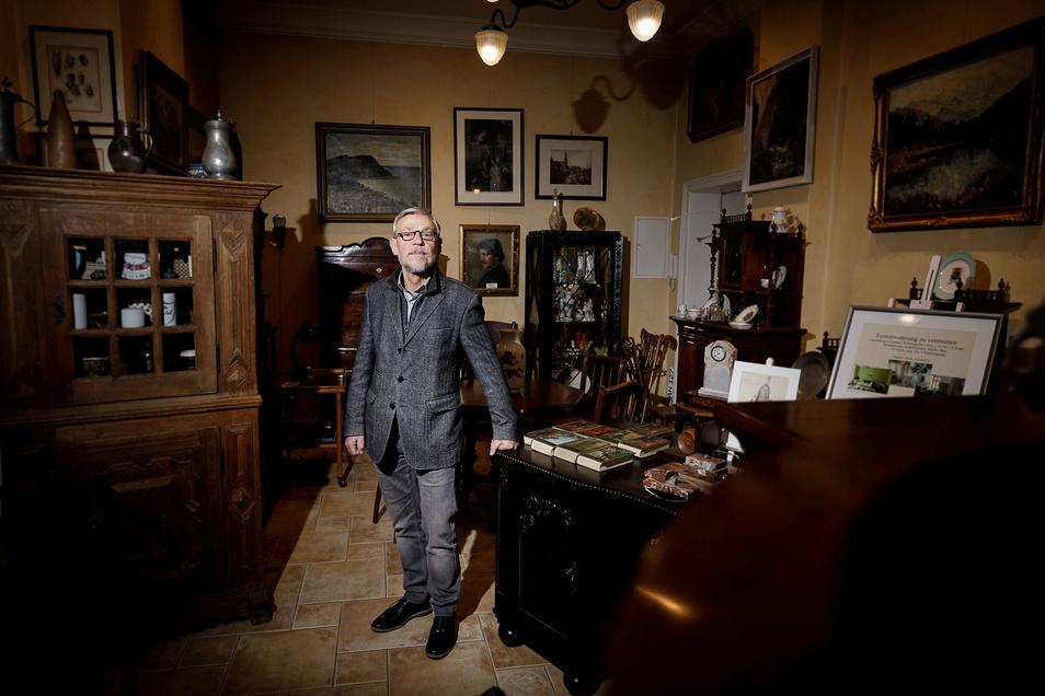 """""""Die Profiteure, Amazon und ähnliche, sitzen woanders."""" Hans-Ulrich Leonhardt, 69, Antiquitätenhändler in Görlitz"""