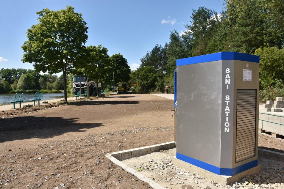 Wohnmobilisten brauchen hin und wieder Elektroenergie und müssen Wassertanks leeren bzw. füllen. All das ist in Hoyerswerda bald möglich.