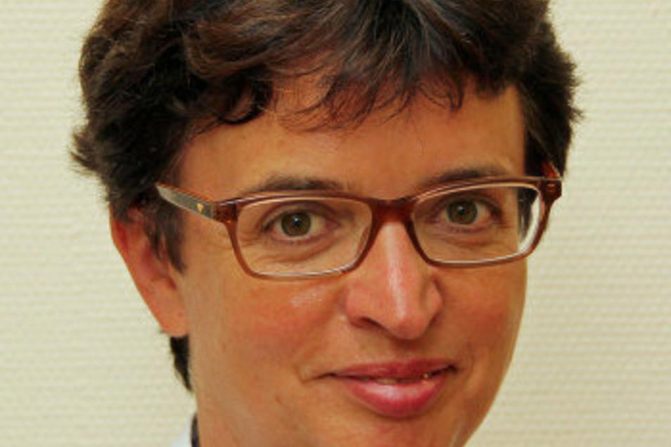 Dr. Ulla Lieser, kommissarische Chefärztin der Klinik für Kinder- und Jugendmedizin der Helios Klinik .