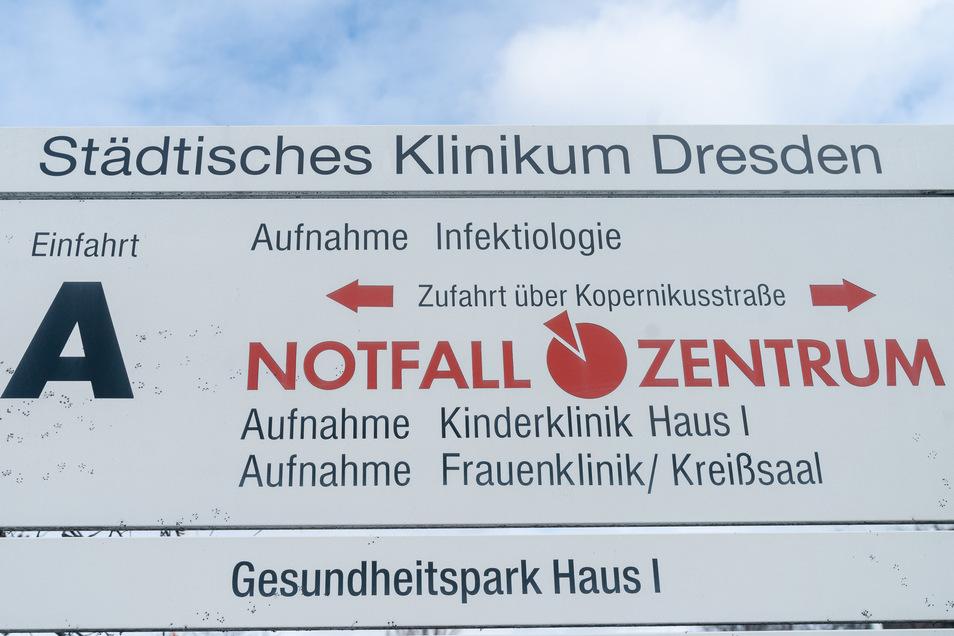 Städtisches Klinikum Dresden, Krankenhaus Neustadt. Die Frage, wie es mit dem Standort weitergeht, ist Teil der derzeitigen Debatte