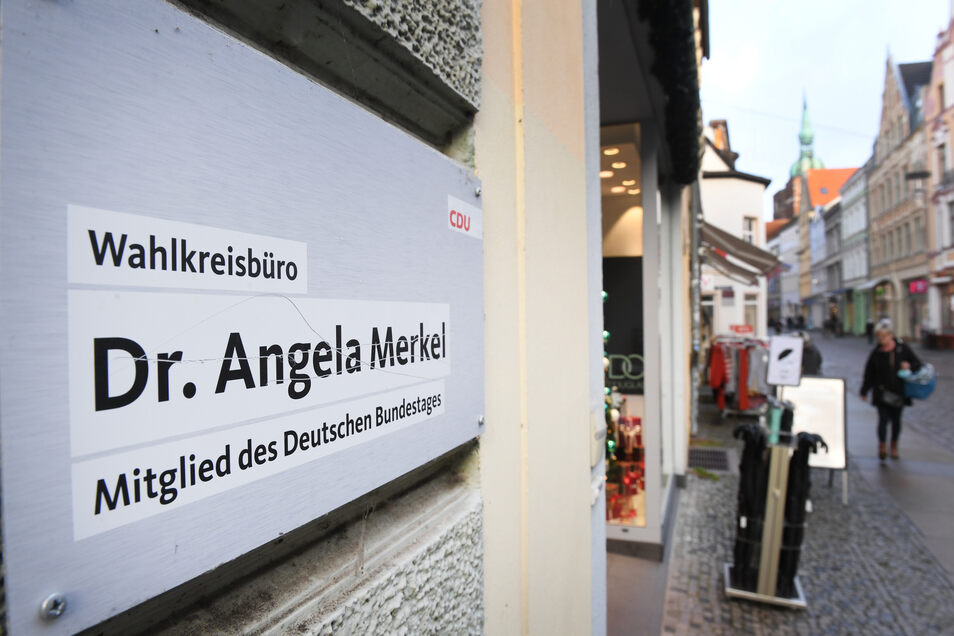 Angela Merkel hat in Stralsund ihr Wahlkreisbüro.
