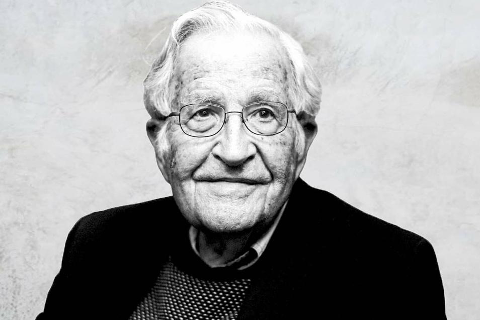 Noam Chomsky, geboren 1928 in Philadelphia, war Professor für Sprachwissenschaft und Philosophie am MIT in Cambridge.