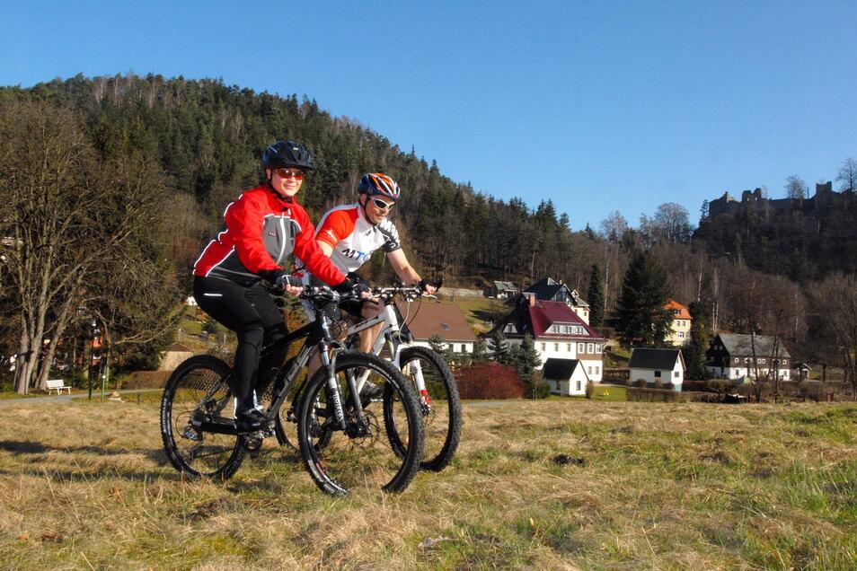 Outdoorsport ist in - und lässt sich Im Naturpark Zittauer Gebirge auch mit den Interessen des Naturschutzes vereinbaren.
