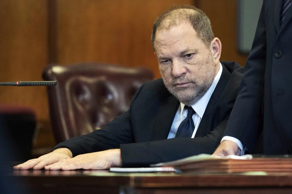 Harvey Weinstein, Filmproduzent aus den USA, vor Gericht.