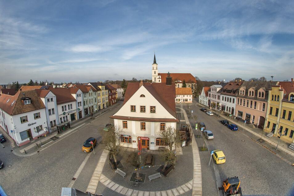 Das Rothenburger Rathaus könnte zum zentralen Anlaufpunkt für den künftigen Bürgerbus werden. Wann er starten soll, ist noch nicht ganz klar.