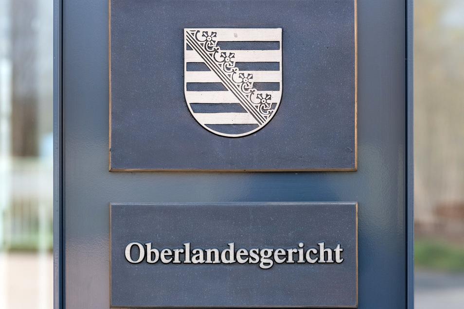 Am Oberlandesgericht (OLG) in Dresden wurden 2020 viele Abgasverfahren verhandelt.