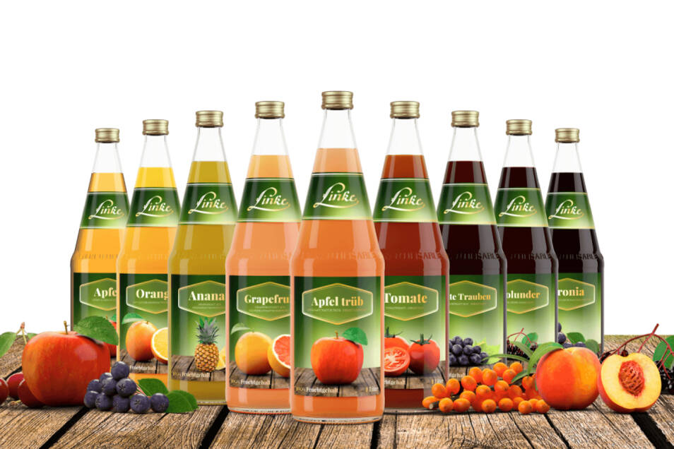 100% Fruchtgehalt in vielen verschiedenen Sorten.