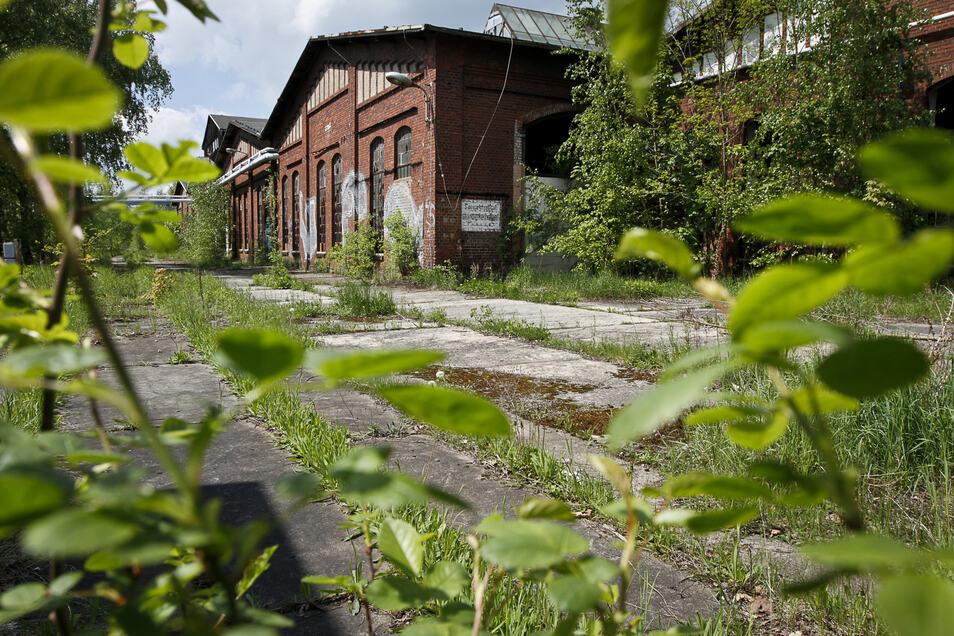 Verfallene Bahngebäude in Görlitz werden zu einem neuen Gewerbe-Standort entwickelt.