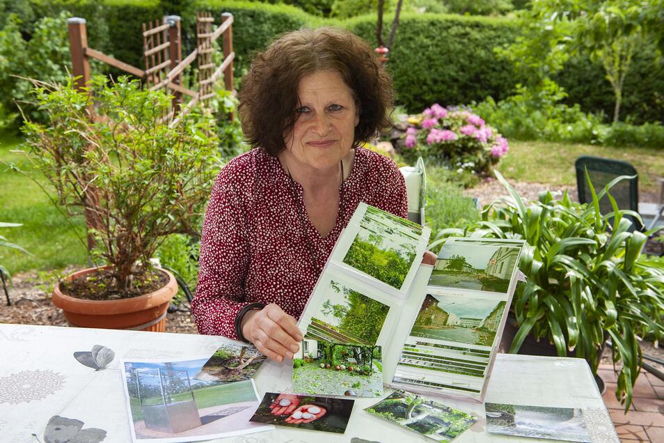 Evelyn Uschner hat viele Fotos vom Tornado. Sie ruft aber auch dazu auf, Erinnerungen für die nächste Generation aufzuschreiben.