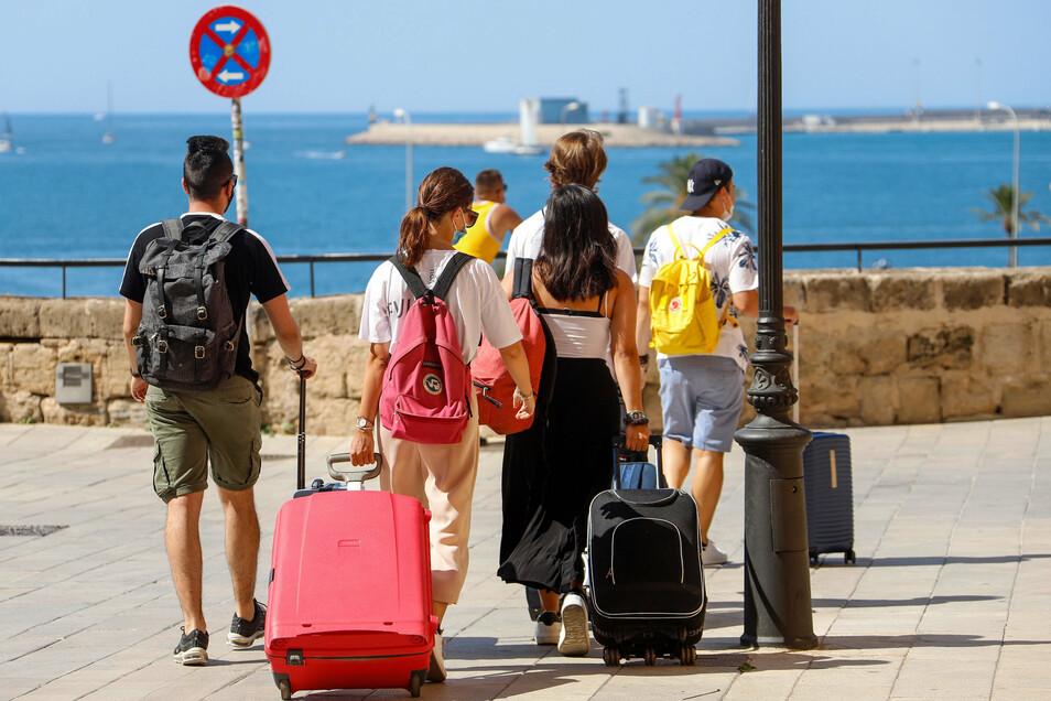 Auch auf Mallorca Sorge vor deutscher Reisewarnung