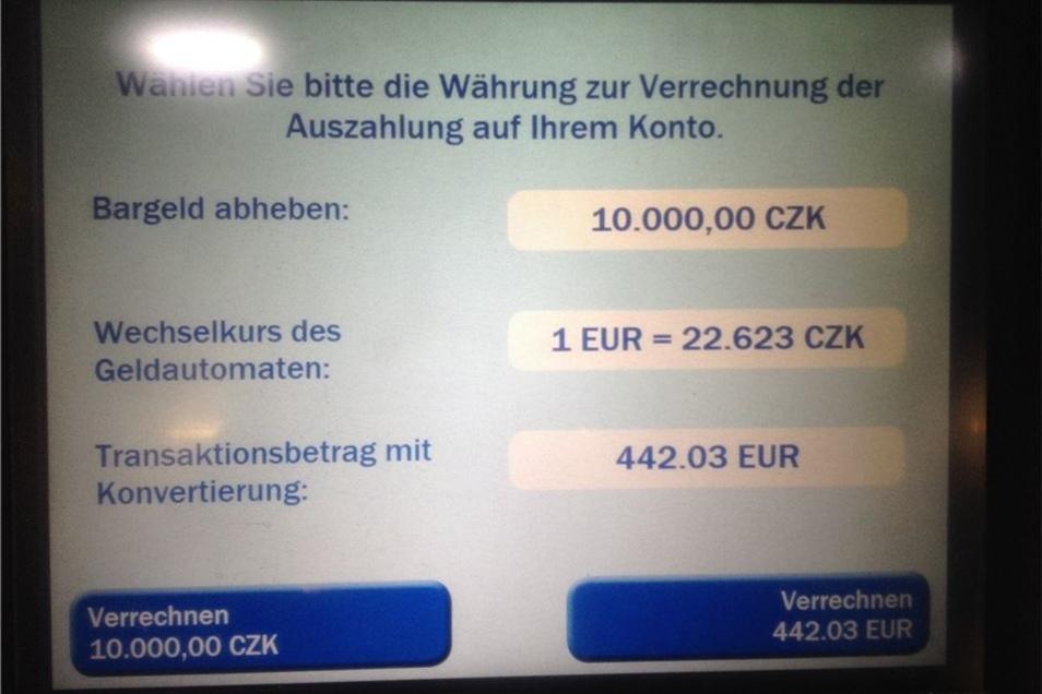 Umrechnung Czk In Euro