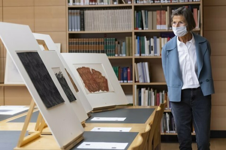 Die Künstler-Witwe Karin Girke schenkt Dresden 21 Werke von Raimund Girke und Gerhard Richter