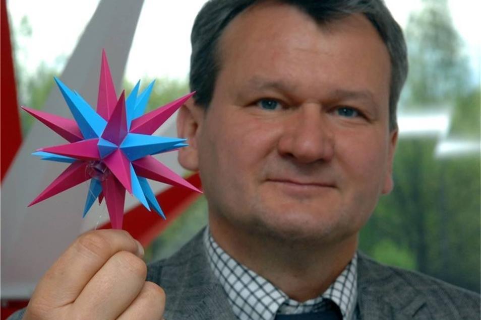 Oskar Scholz ist Geschäftsführer der Herrnhuter Sterne GmbH.