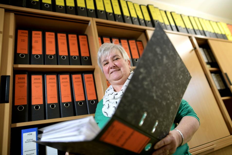 Lolita Eifler kümmerte sich 42 Jahre um die Finanzen von Bernstadt.