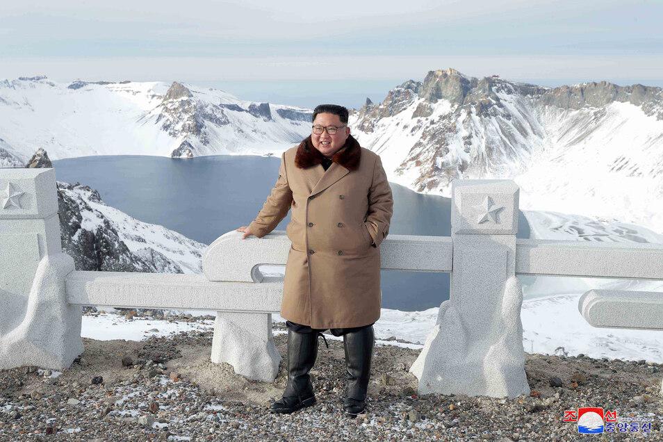 Kim Jong Un, Machthaber von Nordkorea, wurde von Russland ausgezeichnet.