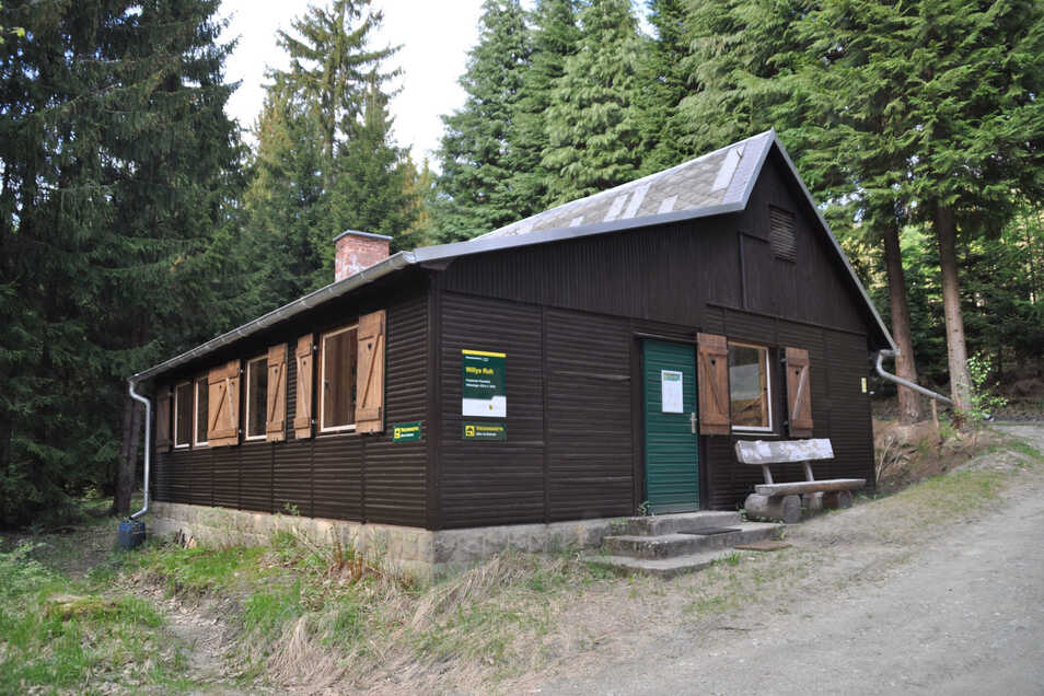 Die Trekkinghütte Willys Ruh bleibt wegen Sturmschäden noch bis Ostern geschlossen.