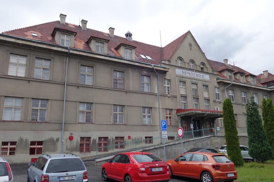Arbeitet weiter trotz Insolvenzverfahren: Klinik in Rumburk.