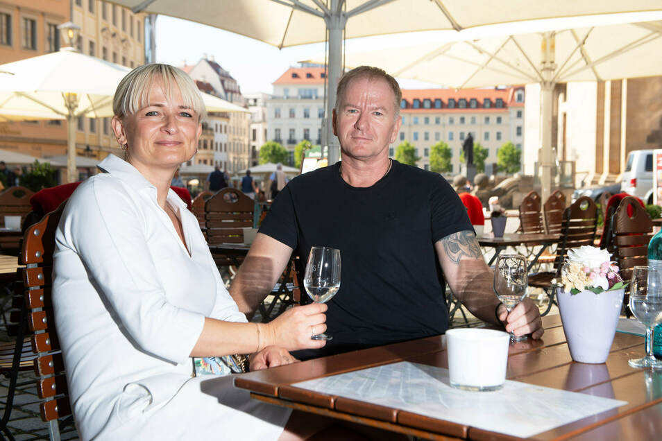 Janet und Maik Kosiol in ihrem neuen Lokal.
