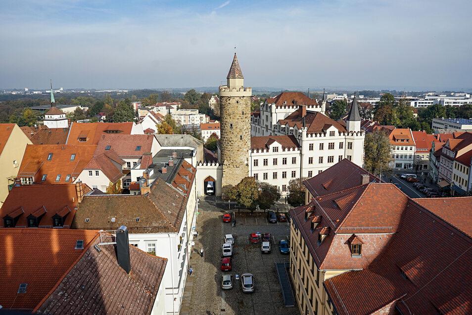 Bautzen - hier ein Blick vom Reichenturm in Richtung Norden - verliert Einwohner. Im vergangenen Jahr mehr als 650.