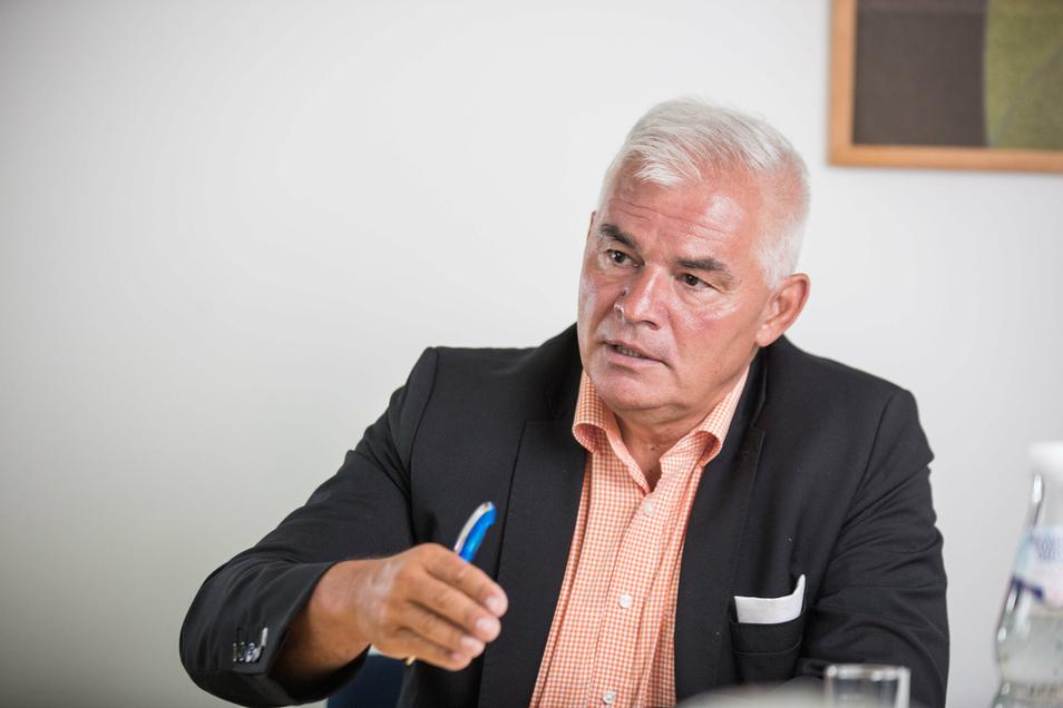 Peter Krüger ist der neue CDU-Fraktionschef. Im SZ-Interview erklärt er, was er plant.