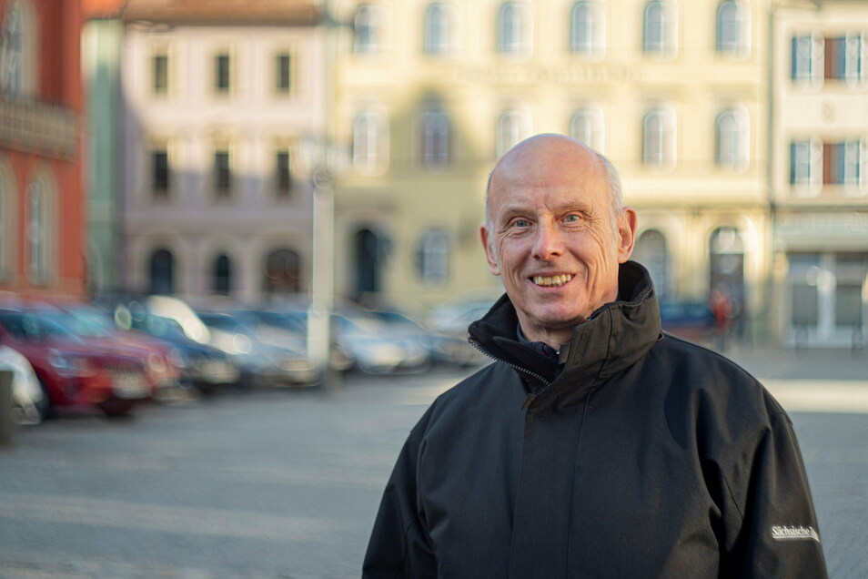 Armin Burkhardt übernimmt in schwieriger Zeit den Vorsitz im Verein Kamenzer Cityinitiative.