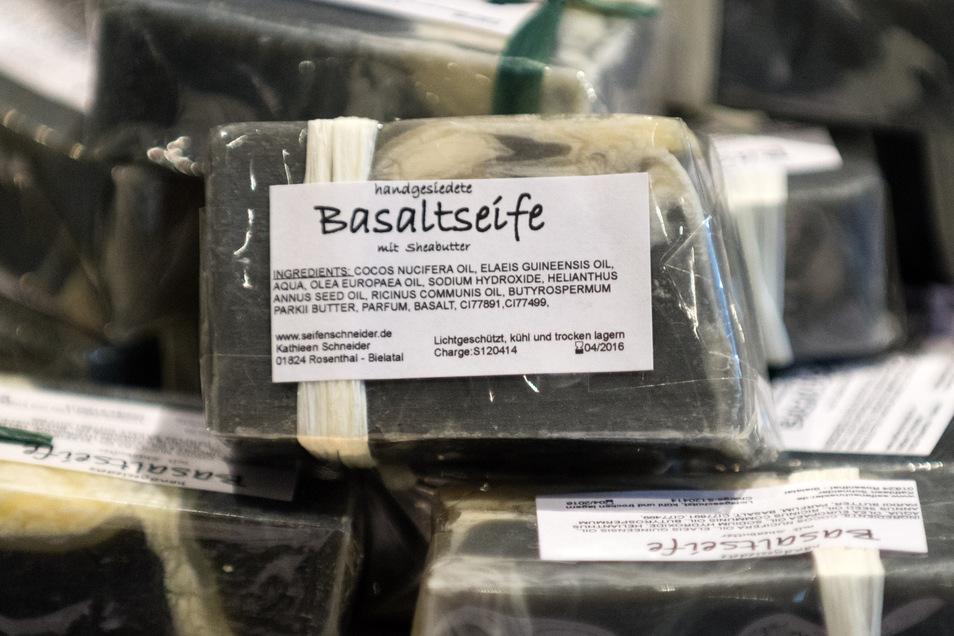 Basalt wird in verschiedenster Form vermarktet.