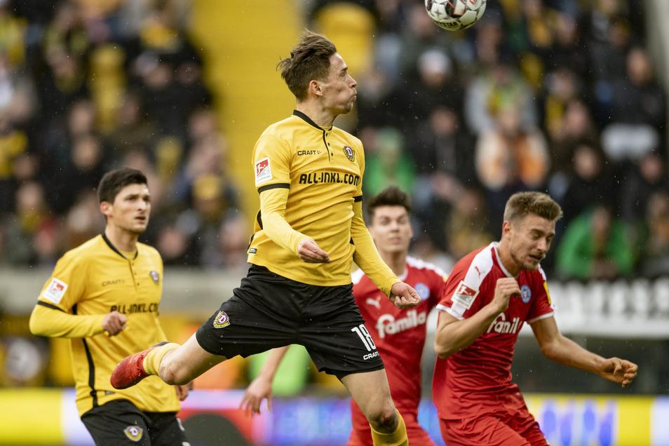 Zuletzt gehörte Jannik Müller zu den Besten bei Dynamo. Gegen Union wird er jedoch fehlen.
