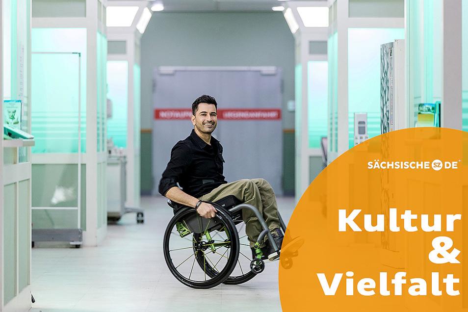 Der Schauspieler Tan Caglar zieht als Arzt in die Sachsenklinik Foto: MDR