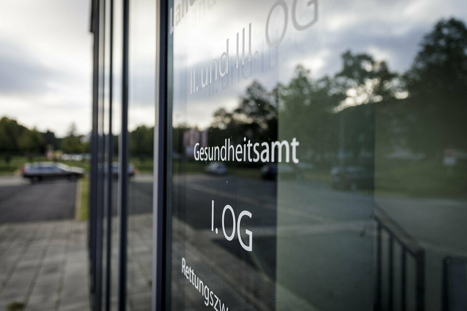 Das Gesundheitsamt auf der Görlitzer Reichertstraße.