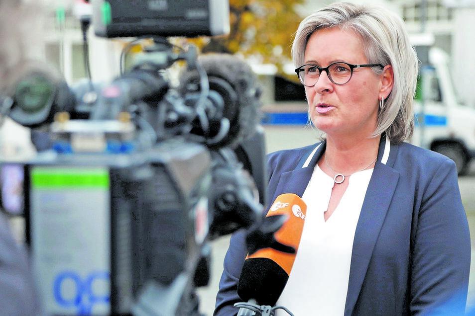Marion Prange ist Bürgermeisterin von Ostritz.