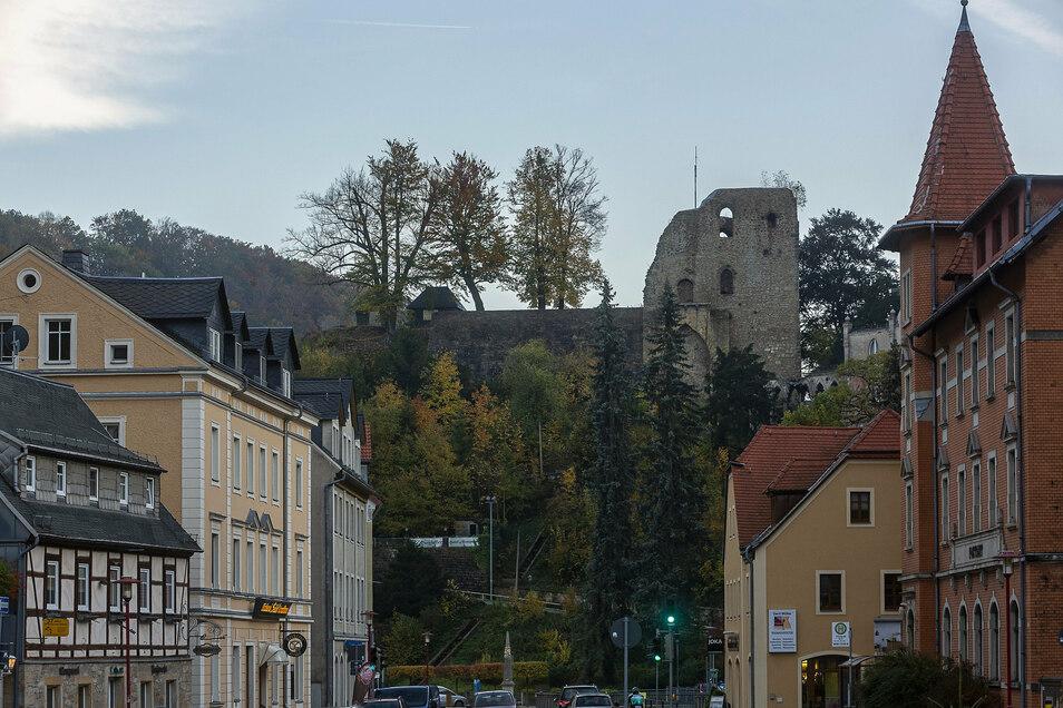 Die Burgruine thront als Wahrzeichen über der Stadt, aber weit bekannter ist Tharandt für seine Lehrstätte.